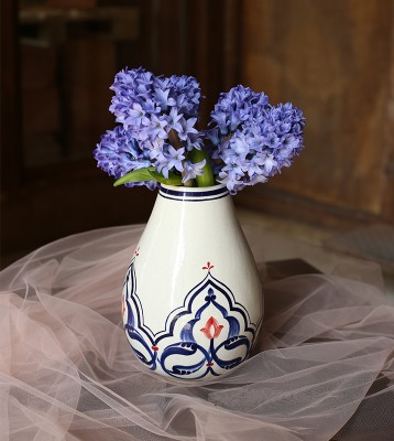 Vase with hyacinthuses