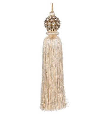 Tassel with jewellery